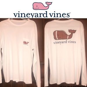 Vineyard Vines LS Football Shirt